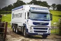 Volvo Tridem's traction and manouverability convinces Wynnstay