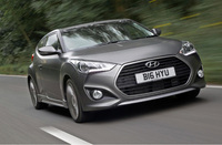 Hyundai Veloster Turbo SE charges into UK showrooms