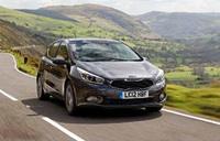 Kia cee'd awarded top safety score by EuroNCAP
