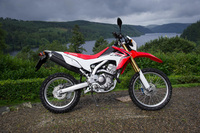 The Honda CFR250L has landed, with a chance to win!