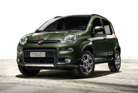 Fiat Panda 4x4 world preview at the Paris Motor Show