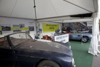 Aston Martin Works shows revived DB5 at Goodwood