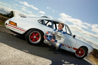 Porsche race driver reunited with Grandfather's competition 911