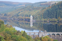 The quirky Lake Vyrnwy Brolly Break