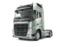 Charity auction of the very first new Volvo FH