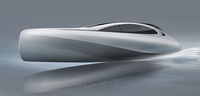 Mercedes-Benz Style present designs for 'Silver Arrows' motor yacht