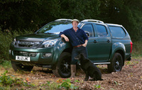 Mike Robinson and Isuzu create huntsman special pick-up