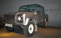 Skyfall Land Rover Defender joins Bond in Motion