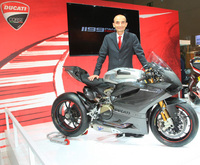 Ducati present 1199RS13 Superbike at Intermot