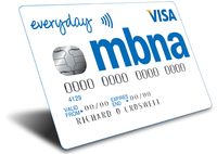 "MBNA launches ""Everyday"" credit card"