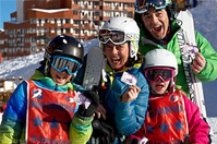 Win a family ski holiday in Les 3 Vallees