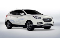 Drive Hyundai's hydrogen-powered ix35 Fuel Cell