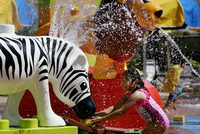 Splash and play at new Duplo Valley at Legoland Windsor Resort