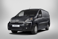 Toyota serves up the new ProAce van