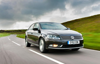 Satellite navigation and more puts new Passat Highline on the map