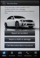 Mercedes-Benz launches MyClaims UK app