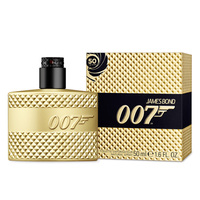 James Bond 007 sniffs sweet smell of success