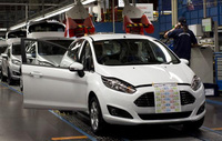 Ford begins production of new Fiesta