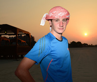 Alistair Brownlee goes for gold at Abu Dhabi International Triathlon