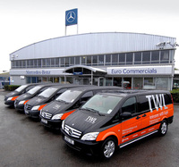 TWL goes back to the future with new Mercedes-Benz Vito fleet