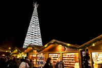 Swarovski Crystal Tree lights up Advent in Tirol