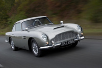 Aston Martin Works prepares Bond car for Skyfall