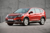 New Honda CR-V achieves strong residual values