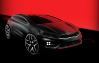 High performance Kia pro_cee'd GT set for 2013 launch