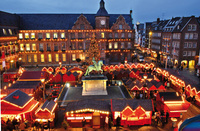 "Christmas market doubles Dusseldorf's joy of ""Longest Bar in the World"""
