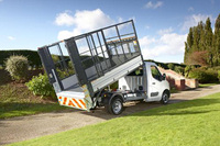 Vauxhall and VFS collaborate on new Caged Tipper