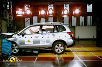 Five-star safety rating for all-new Subaru Forester