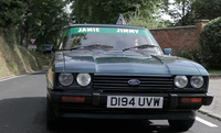 Ford Capri featuring in Jamie Oliver's Food Fight Club