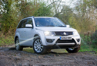 Fresh faced Grand Vitara debuts for 2013