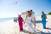 Celebrate a marriage at The Beach House at Iruveli Maldives