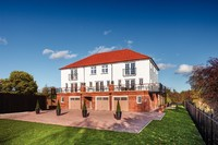 Sample three storey living at Buckshaw Village
