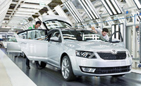 New Skoda Octavia: Series production has begun