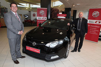 Top dealer opens MG site
