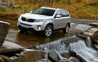 New Kia Sorento wins special award from Total 4x4