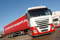 EcoStralis proves haulage needn't be thirsty work
