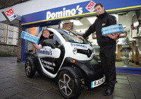Renault Twizy gets a slice of Domino's action