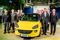 Vauxhall celebrates ADAM number one
