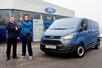 Ford Transit Custom is the clear choice for window cleaning firm