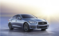 Infiniti Q50 sports saloon unleashed