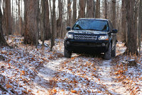 Land Rover made of the Black and White stuff to cope with UK snow