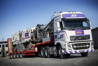 Jet Plant Hire take off with new FMX drawbars and FH double-drive
