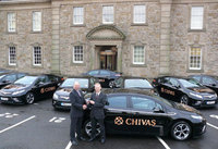 Vauxhall toasts Ampera Fleet win with Chivas Brothers