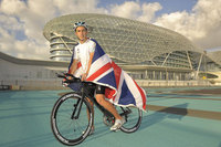 Portsmouth youngster on track for Abu Dhabi triathlon record