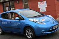 Nissan delivers the UK's first electric driving instructor vehicle