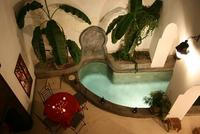 Riad Arabia's plunge pool