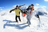 Enjoy sunshine, snow and free skiing in Livigno